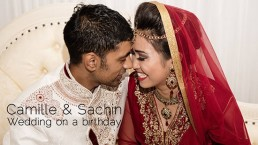 wedding video dubai Camille & Sachin