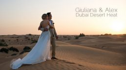 Wedding video Dubai Desert